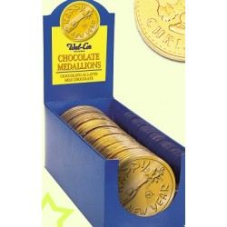 Médaille Chocolat Happy New Year