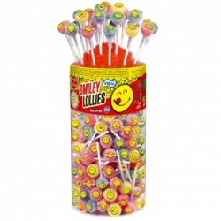 Sucette Smiley Lollies Acide Vidal