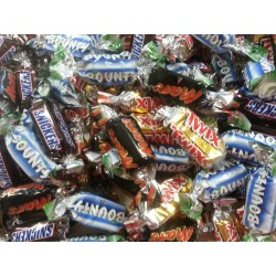 Mini Assortiment Mars/Twix/Bounty/Snickers
