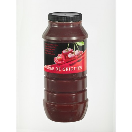Purée de Fruits Griotte Bocal x 1 L