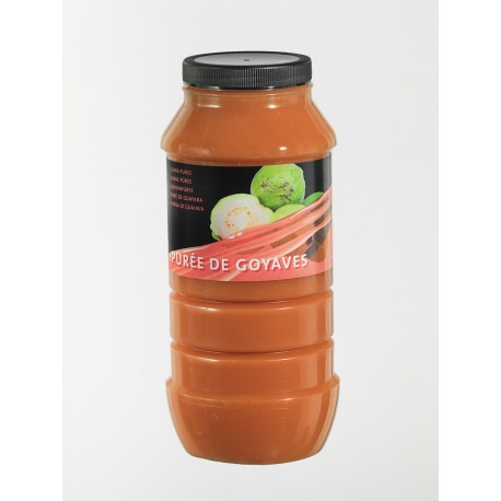 Purée de Fruits Goyave Bocal x 1 L