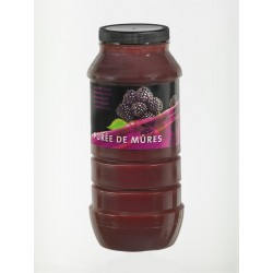 Purée de Fruits Mure Bocal x 1 L