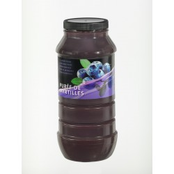 Purée de Fruits Myrtille Bocal x 1 L