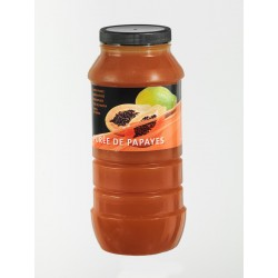 Purée de Fruits Papaye Bocal x 1 L