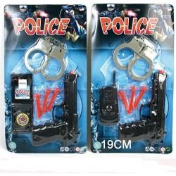 27479 Pistolet Flèches / Menottes Police