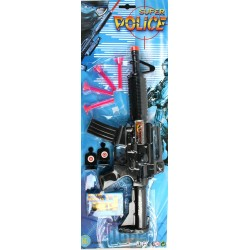 28612 Fusil Flèches / Balles Jaunes Police