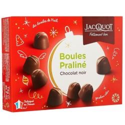 Boules Praliné Chocolat Noir