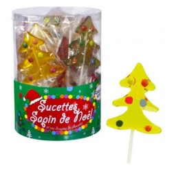 Sucettes Sapin Noël