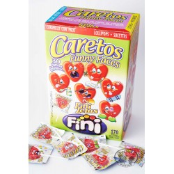 Caretos Rouges Funny Faces