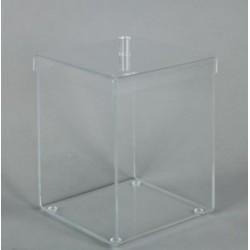 Boîte Présentoir Carrée Plexiglass