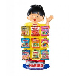 Présentoir Comptoir Mini Hariboy 9 Boîtes Haribo