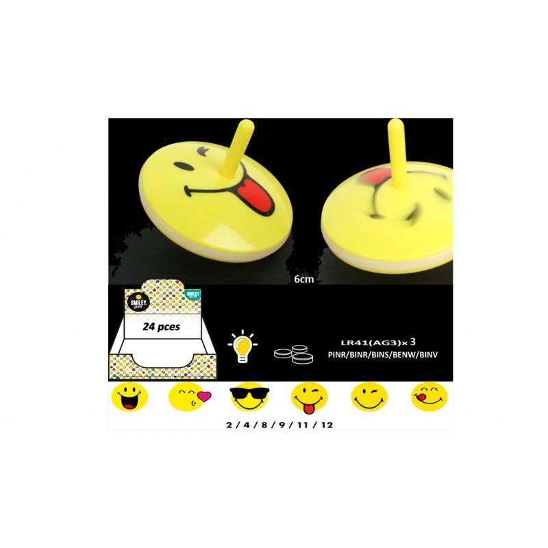 Toupie Smiley