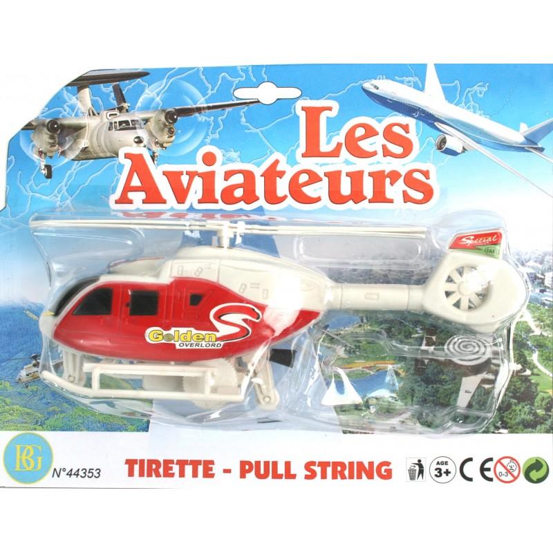 44353 Helico Tirette 20 Cm 2c