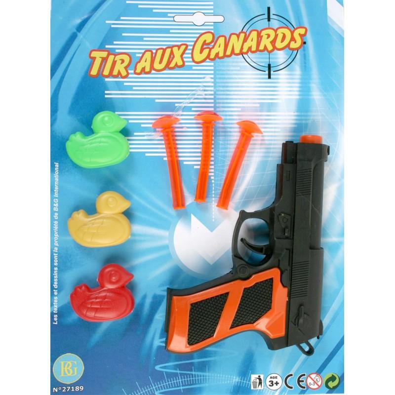 27189 Pistolet 15 CM Fleches x 3 + 3 Canards