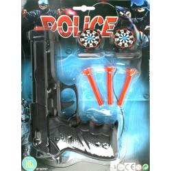 30707 Pistolet 22 CM Flèches x 3P + 2 Cibles