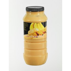 Purée de Fruits Banane Bocal x 1 L